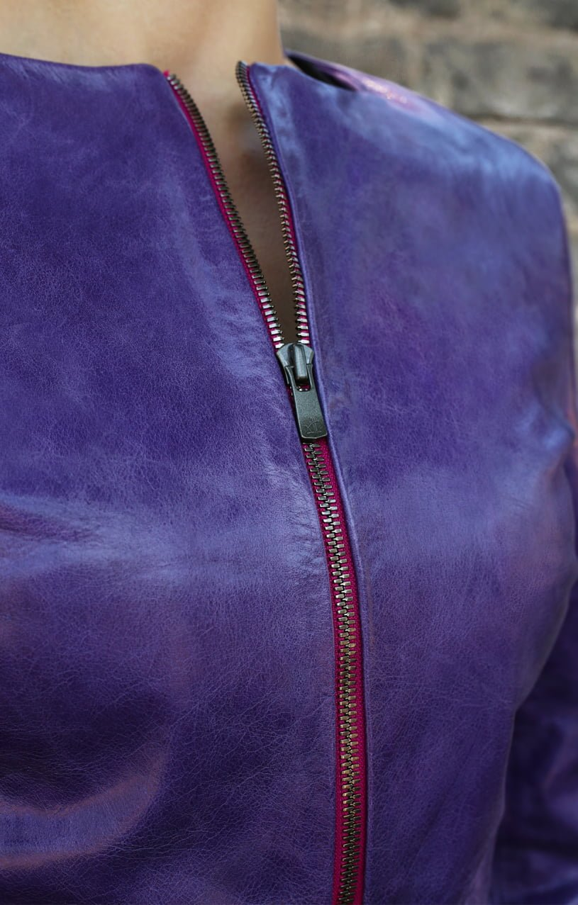 Purple Leather Jacket1