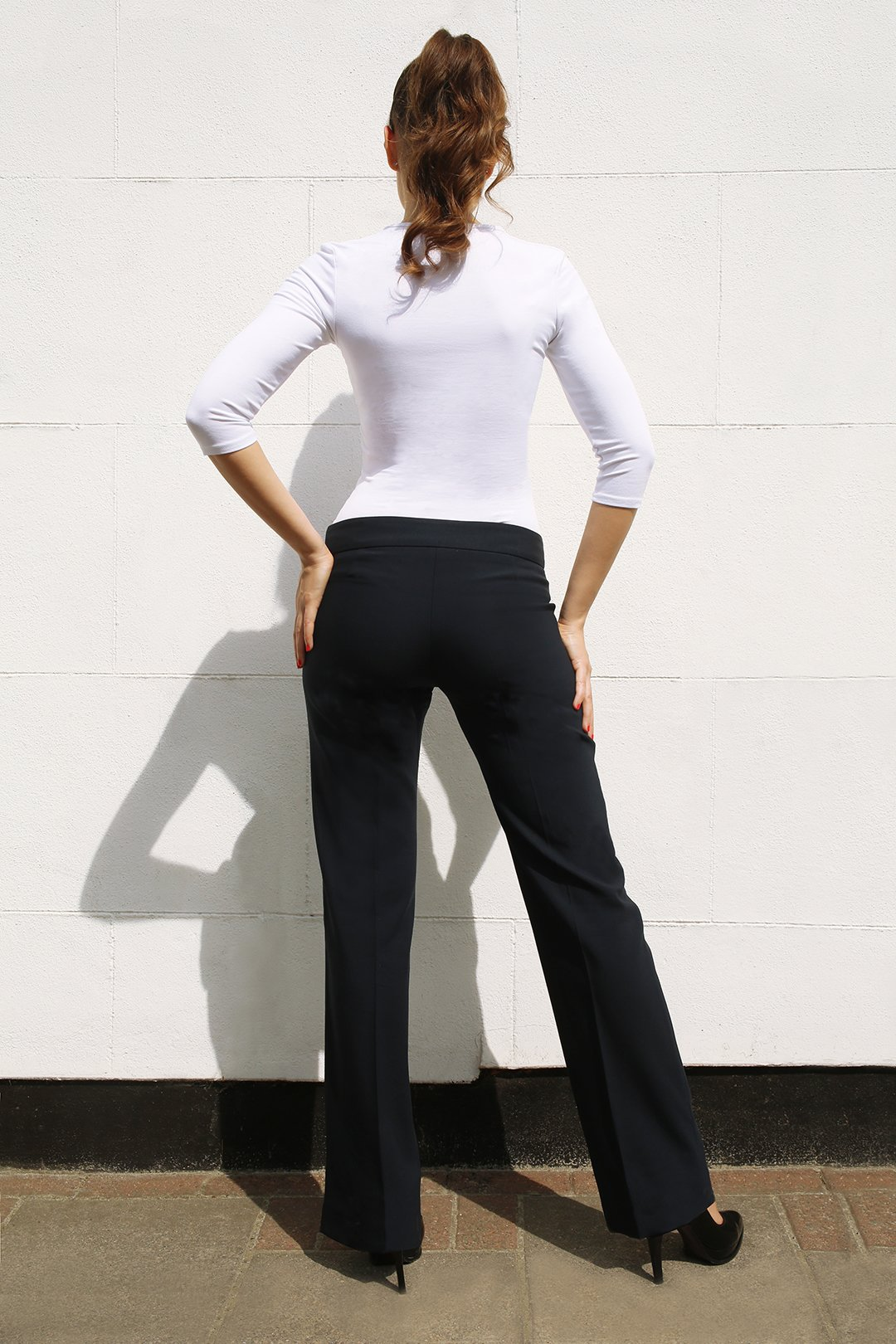 Straight Leg Trousers2