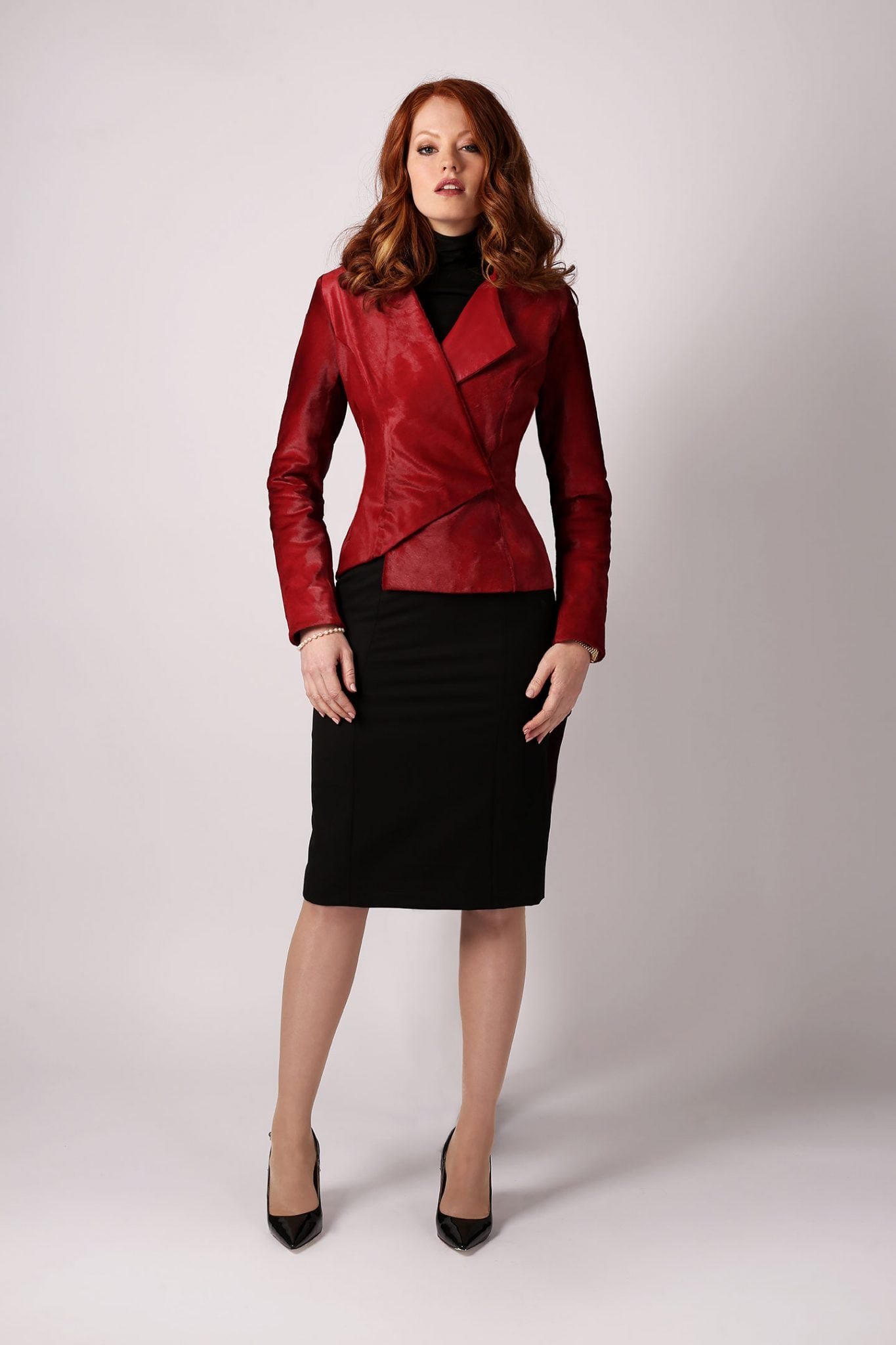 Red Calf Triangle Jacket2