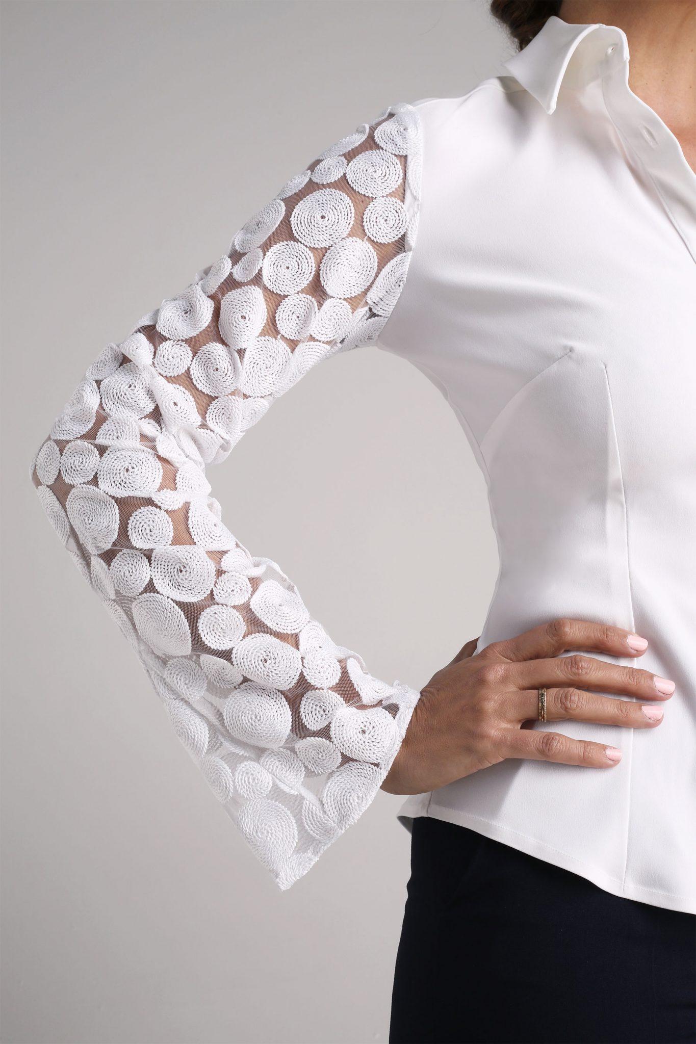 Godet Lace Shirt2