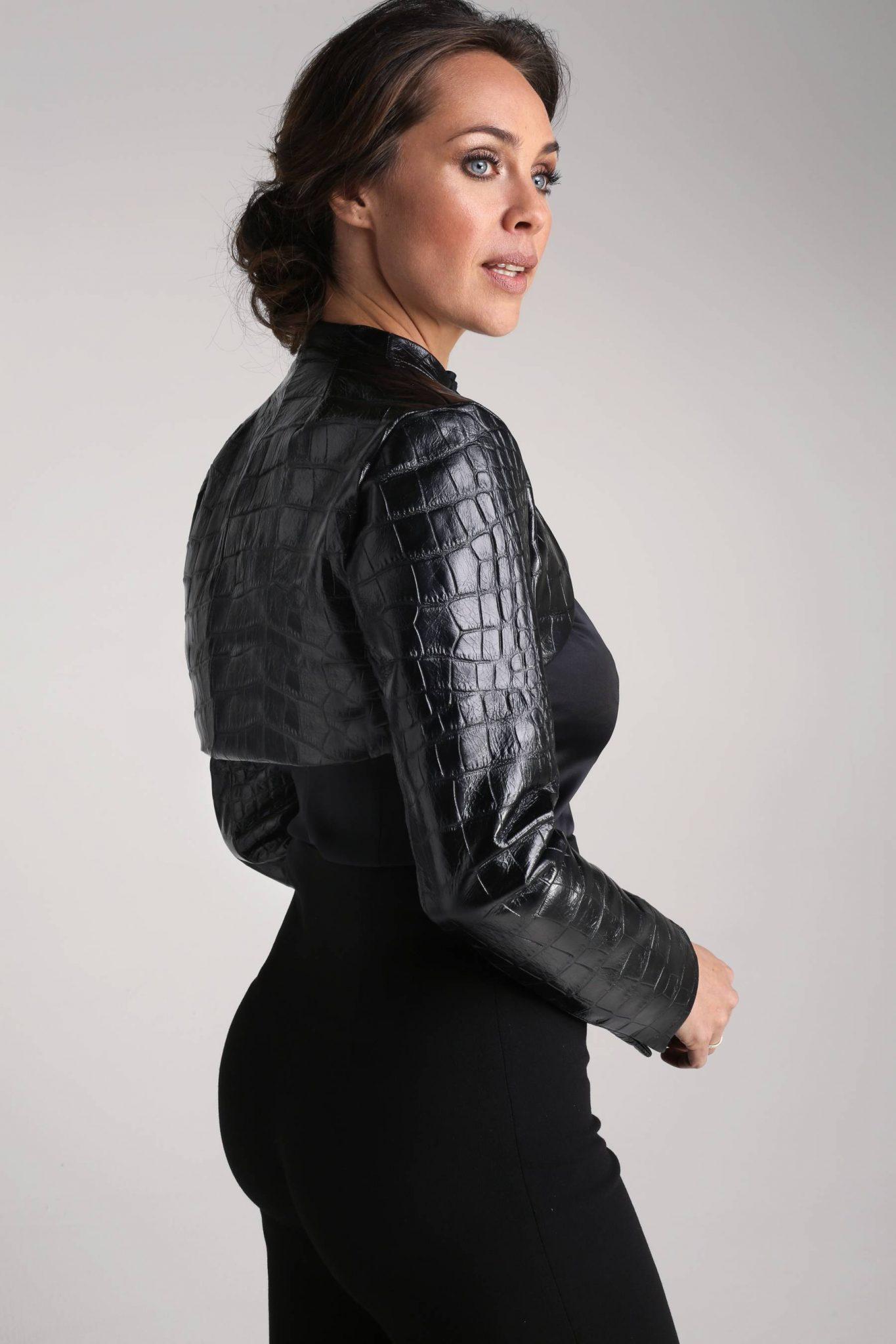 Leather Bolero1