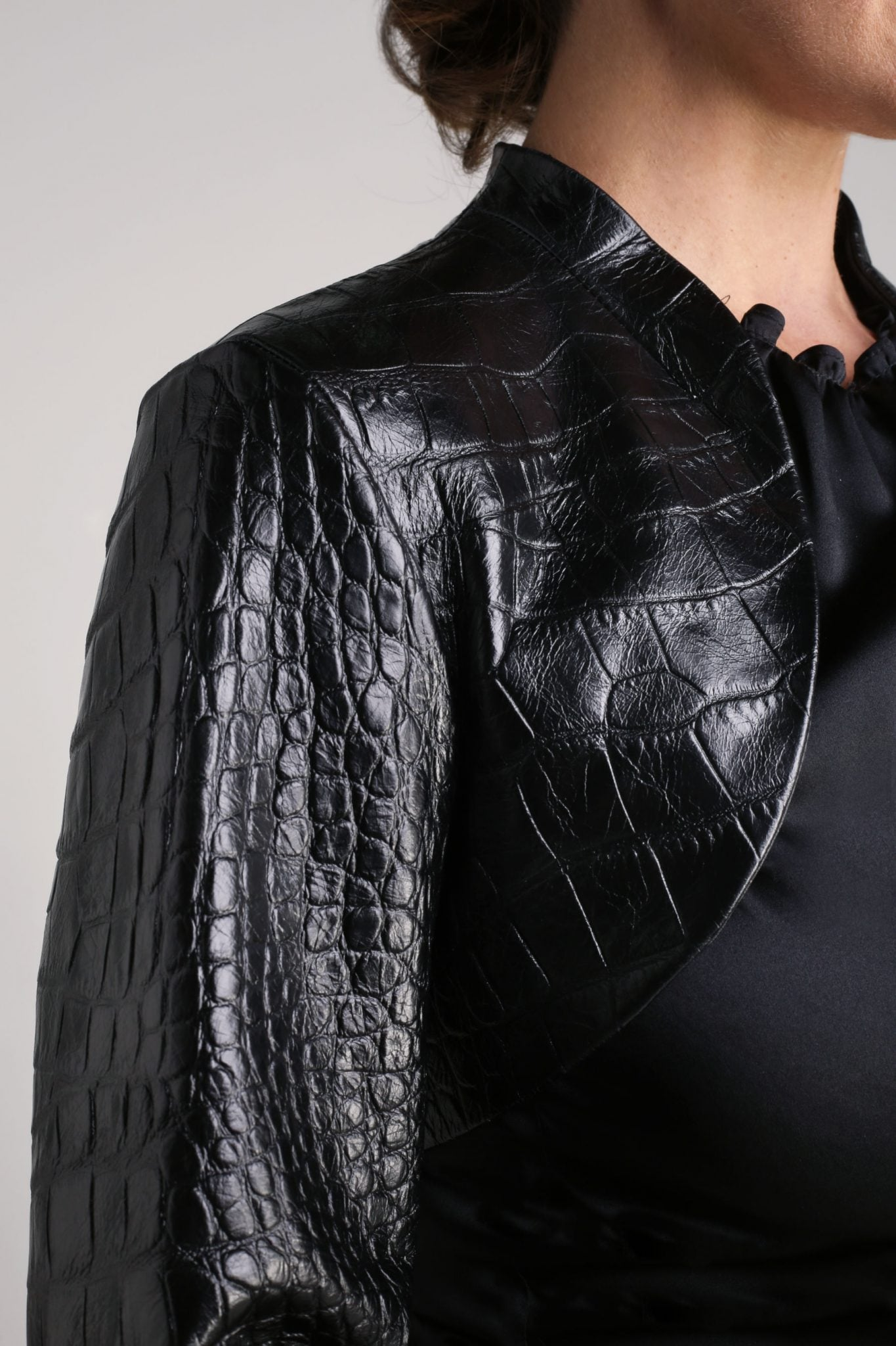 Leather Bolero2