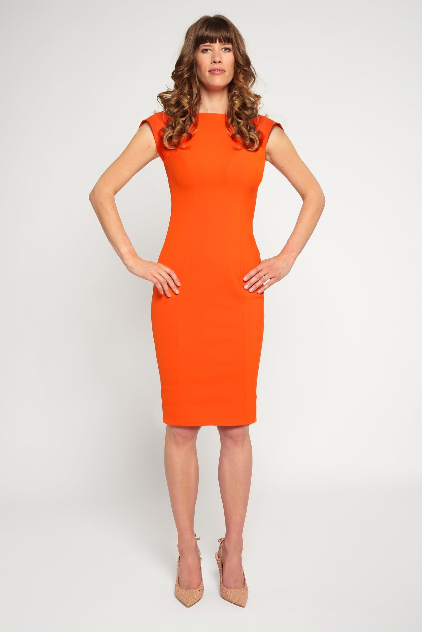 V Back Dress1