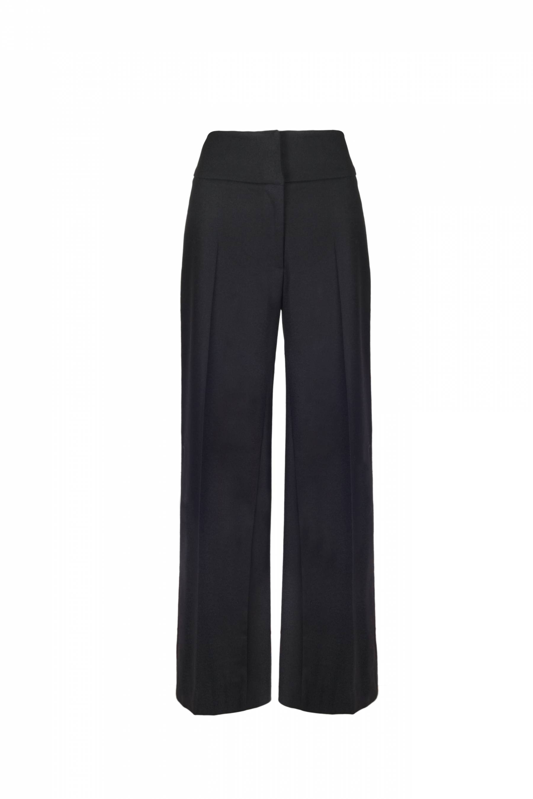 High Waisted Wide Leg Trouser.