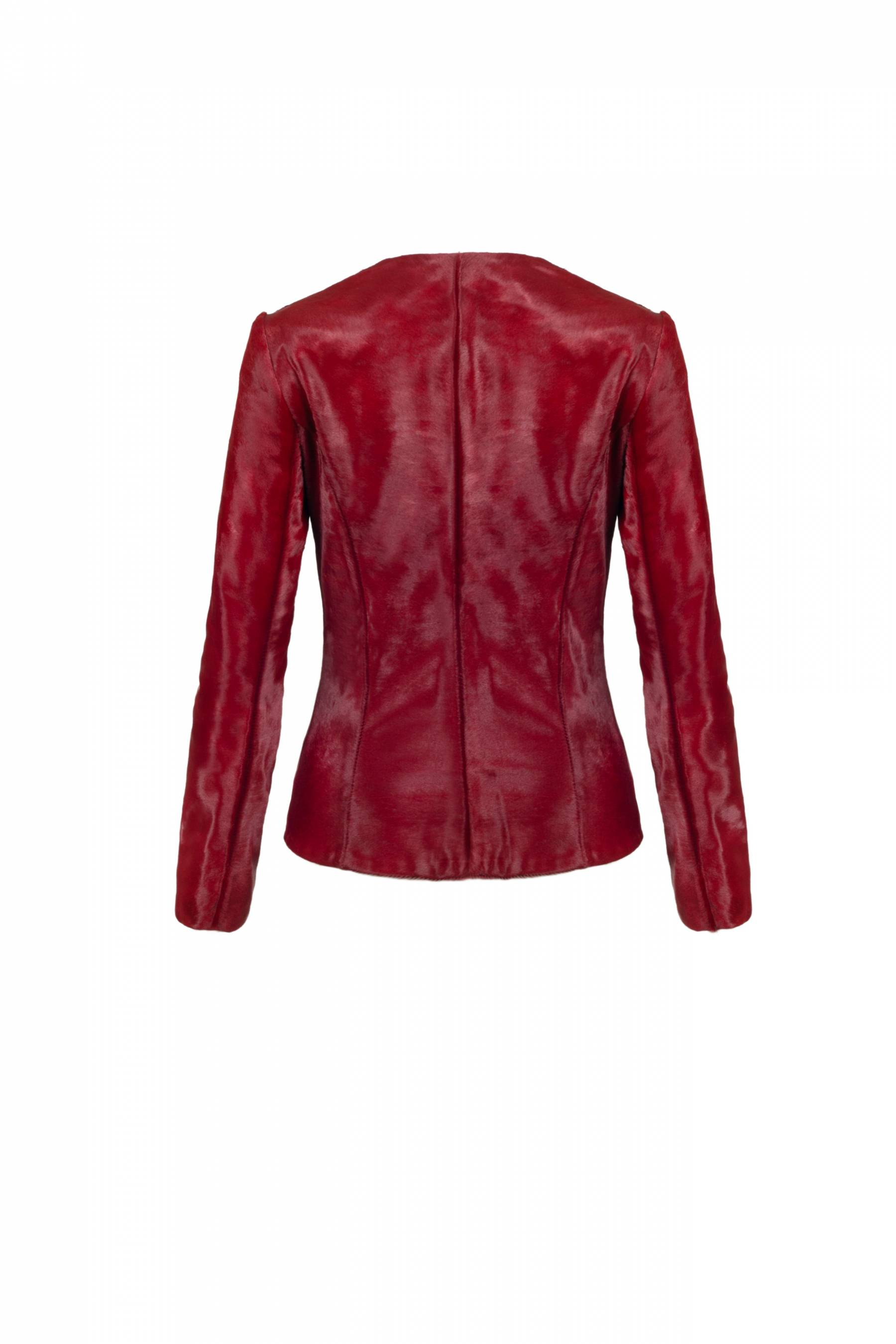 Red bomber Jacket1