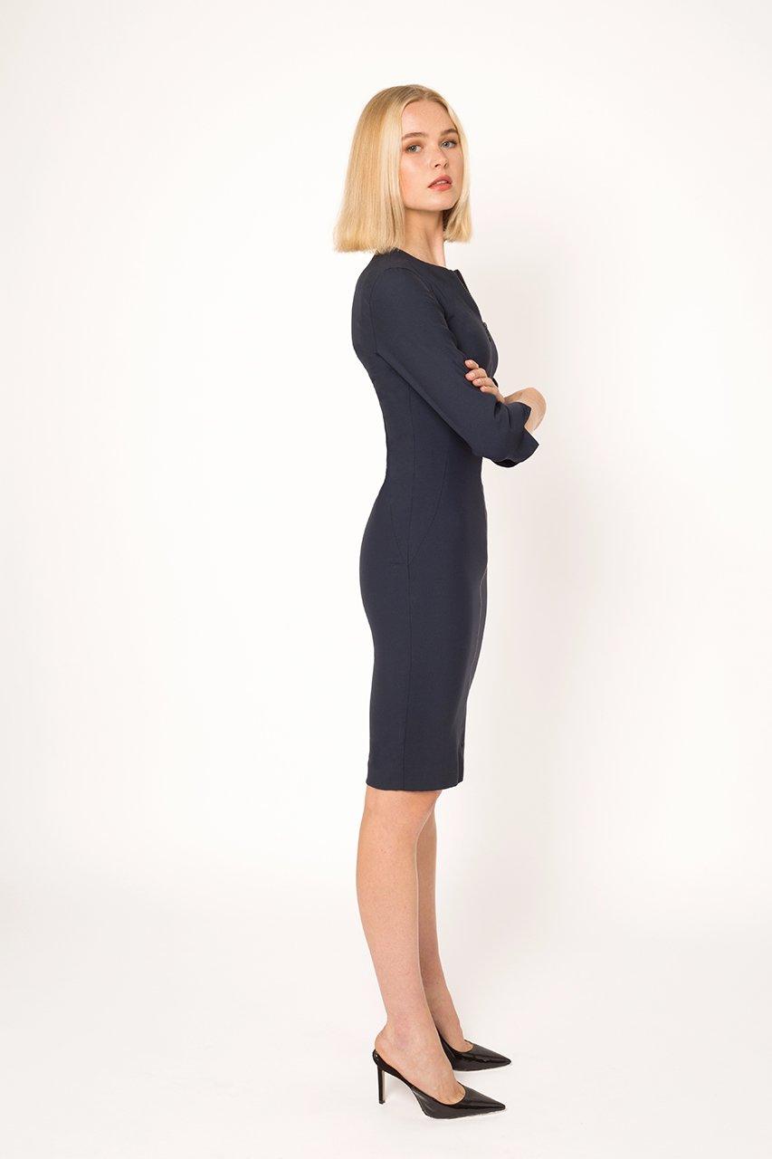 3/4 Sleeve Abbey Dress1
