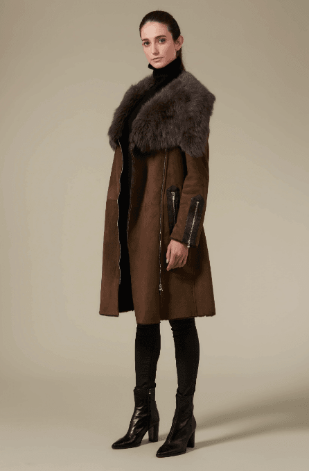 Flint Sheepskin Coat