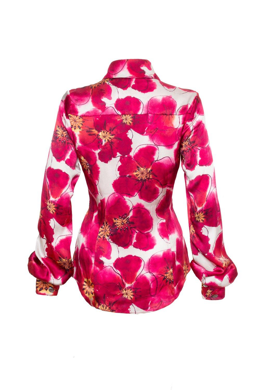 Poppy print shirt1
