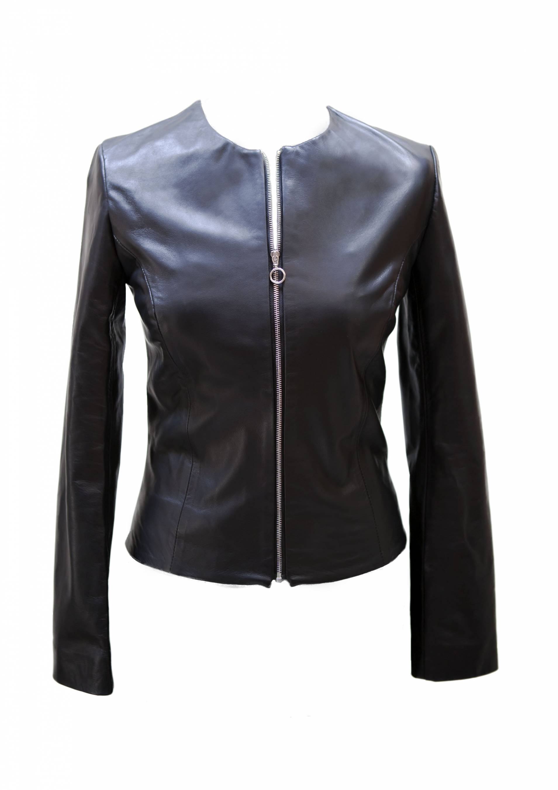 The Wink Painted Leather Jacket2