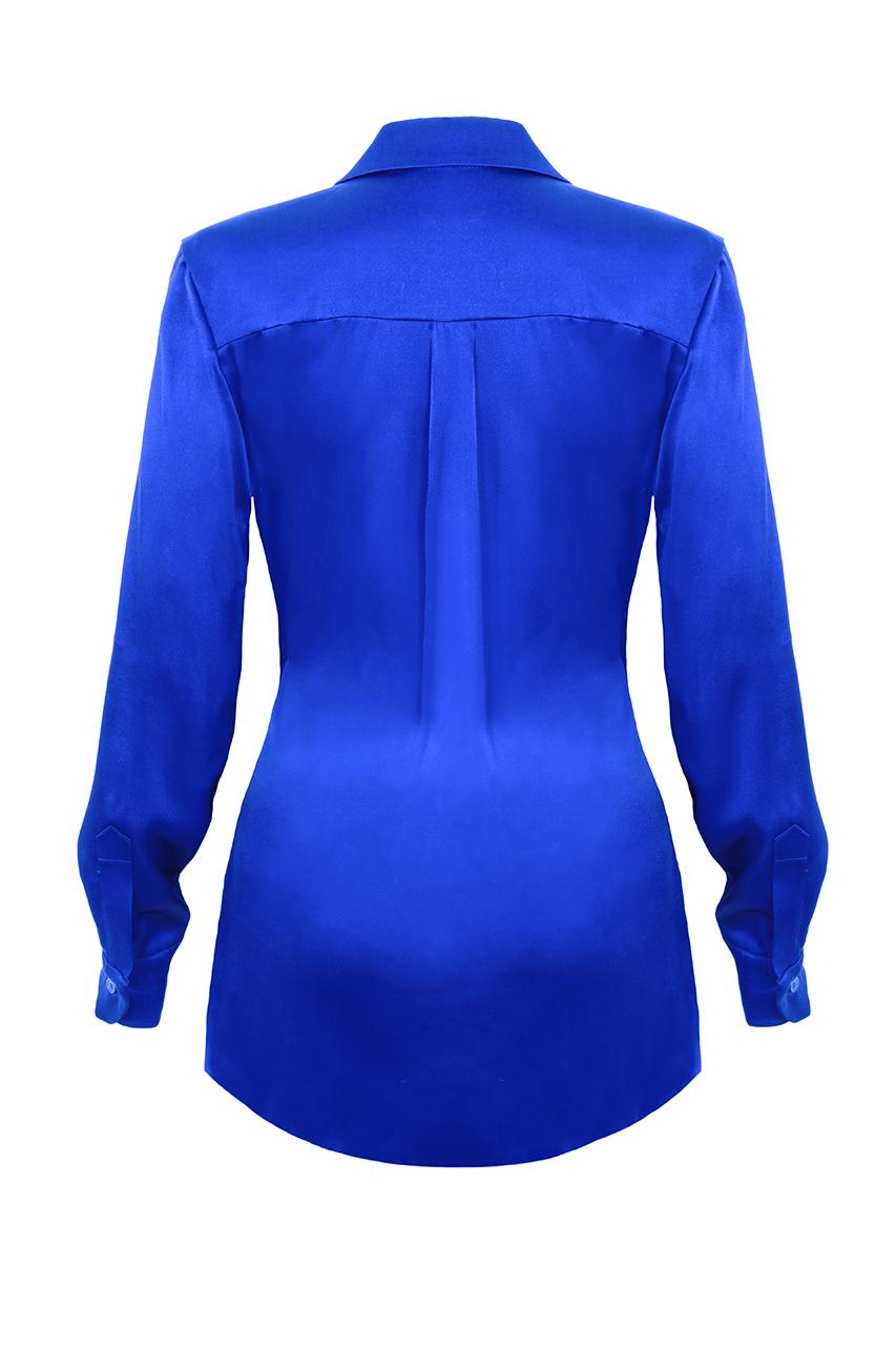 Relaxed silk shirt2