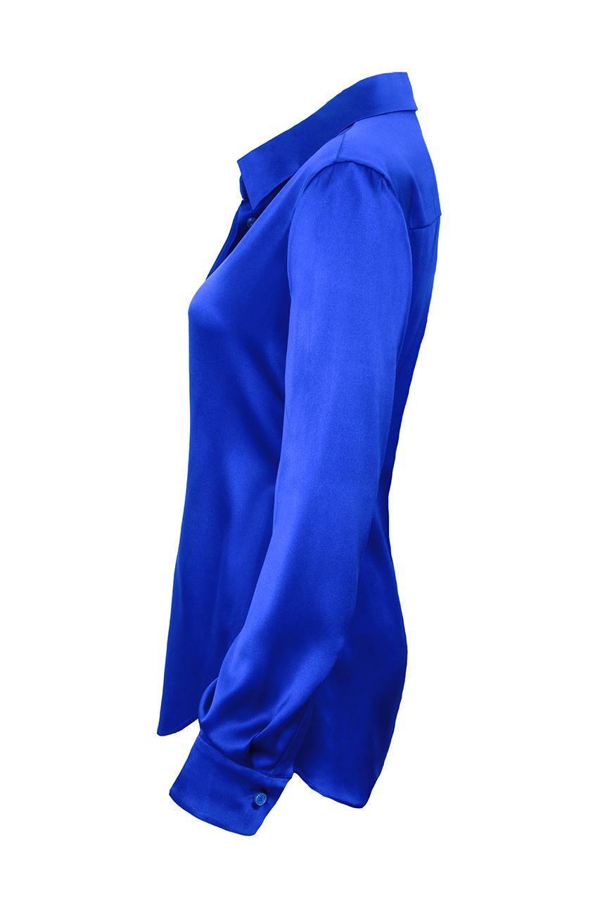 Relaxed silk shirt1